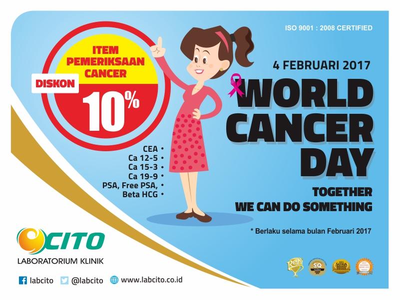 Diskon 10 % Item Pemeriksaan Tumor Marker