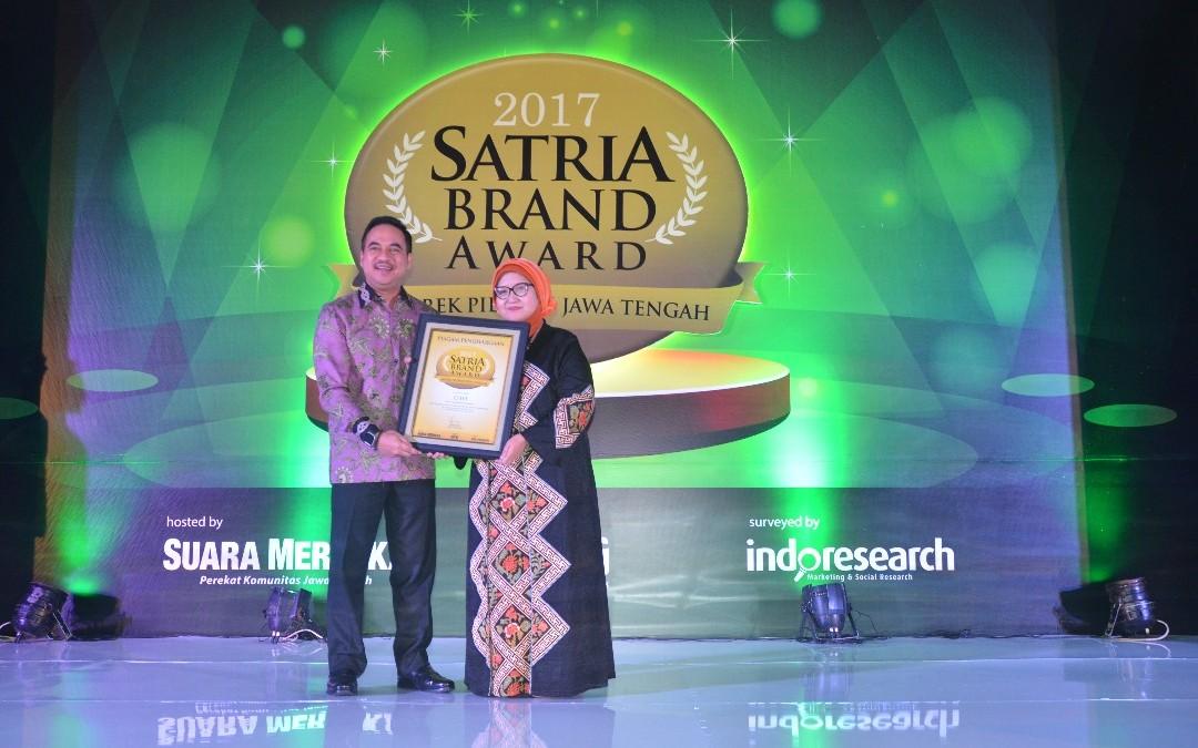 Cito Sabet Satria Brand Award 2017