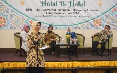 Dialog dan Halal bi Halal FKTP BPJS Kesehatan Semarang-Demak