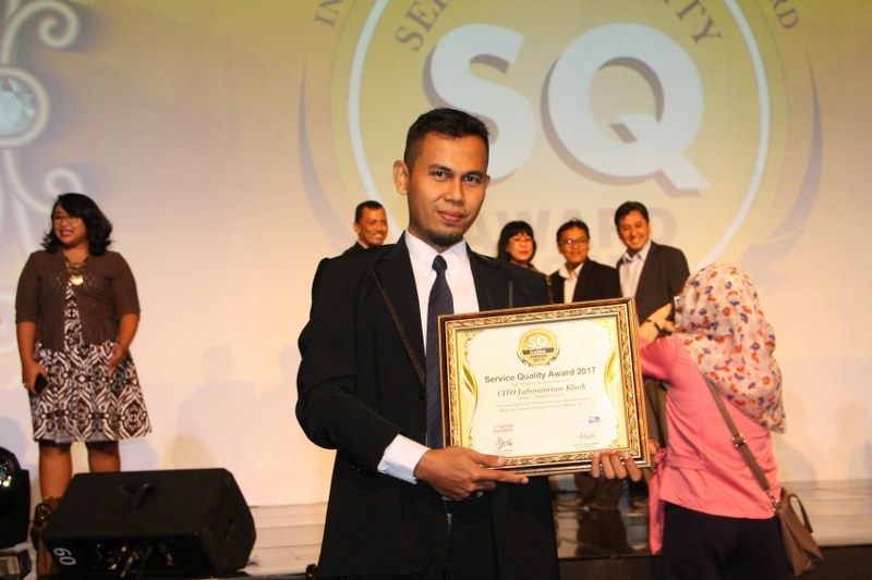 Cito Raih Service Quality Award kembali