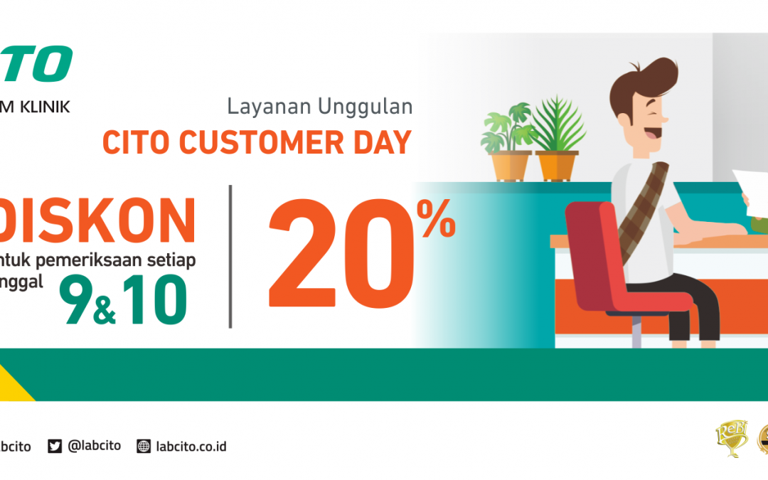Cito Customer Day 9-10 Maret 2018