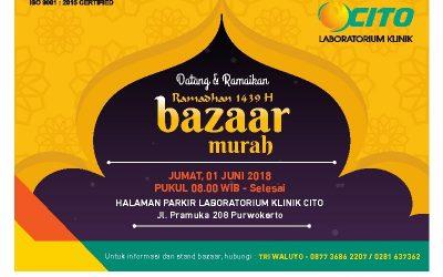 CITO cabang Purwokerto gelar BAZAAR Ramadhan