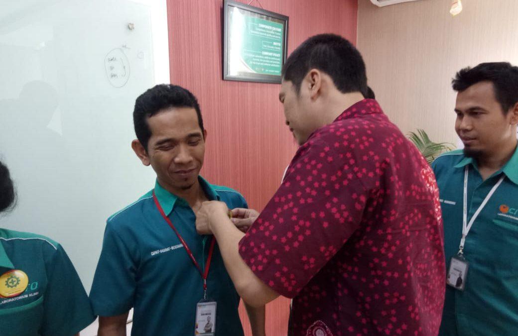 Pelantikan Duta K3 untuk Wilayah Kerja Jakarta – Bogor