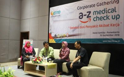 Cito cabang Banyumas gelar Talk Show A-Z Medical Check Up