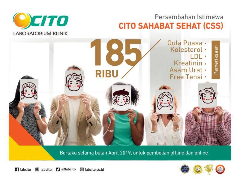 Laboratorium Klinik Cito - Cito Sahabat Sehat (CSS)