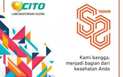 Anniversary Ke-52 Laboratorium Klinik Cito