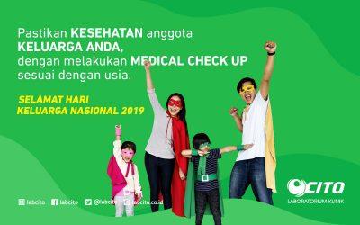 Selamat Hari Keluarga Nasional, Lakukan Medical Check Up Untuk Memastikan Kesehatan Keluarga Anda