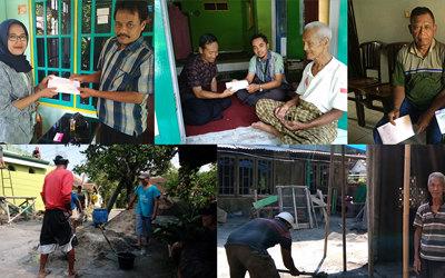 Laboratorium Klinik Cito menyerahkan dana CSR kepada Tiga Tempat Ibadah di Jawa Tengah dan DIY