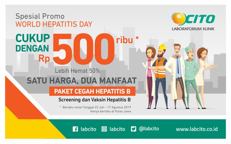 Paket Cegah Hepatitis B Bisa Digunakan Untuk Pemeriksaan dan Vaksinasi
