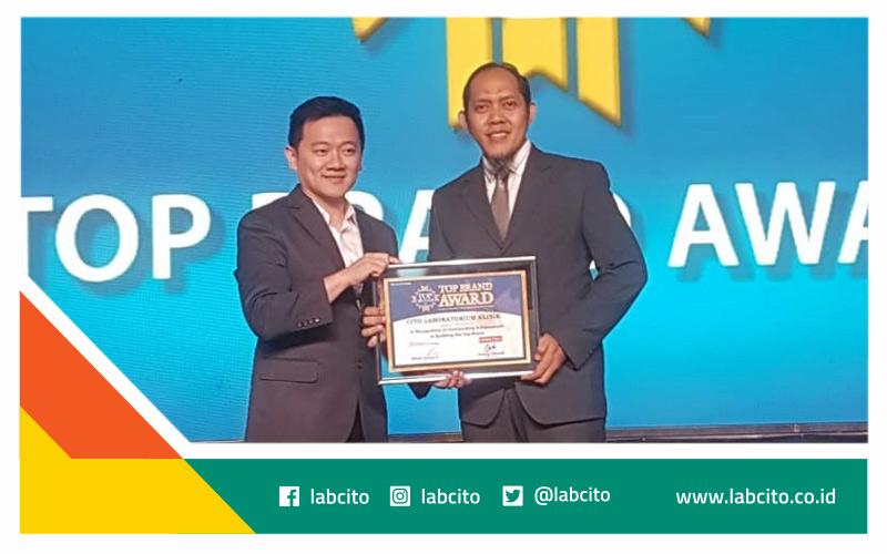 Top Brand Award 2019 Laboratorium Klinik CITO