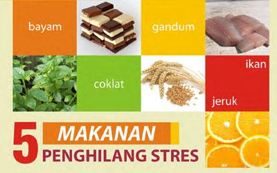 5 Makanan Penghilang Stress Yang Sangat Bermanfaat Bagi Kesehatan