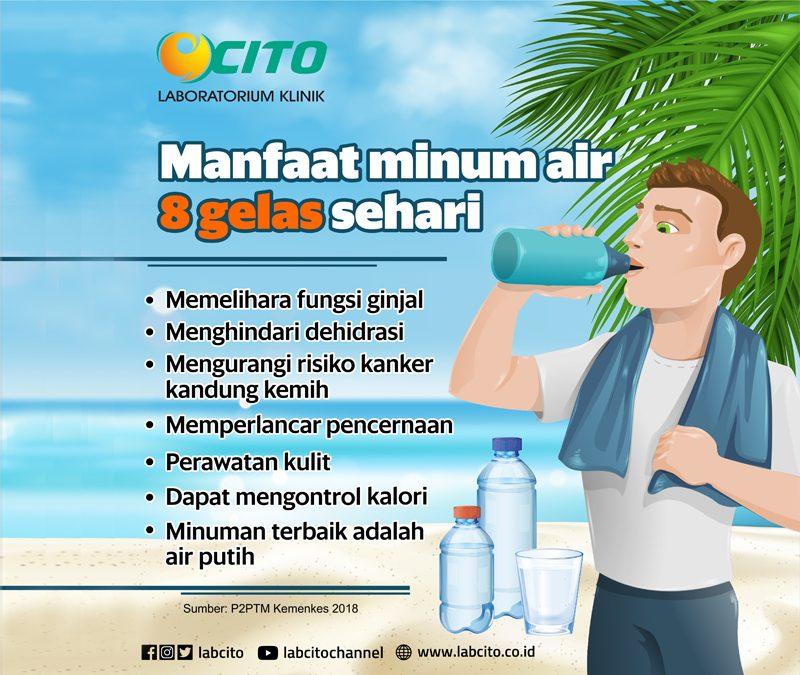 Manfaat Minum Air 8 Gelas Perhari Untuk Kesehatan