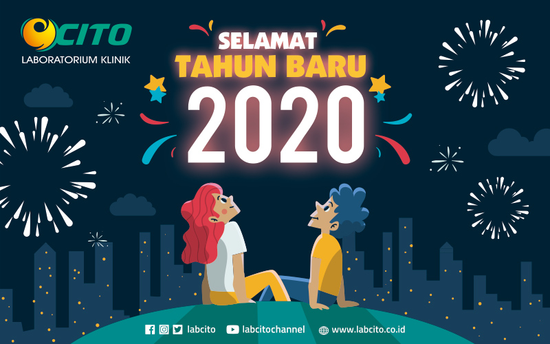 Selamat Tahun Baru 2020 dari Laboratorium Klinik CITO