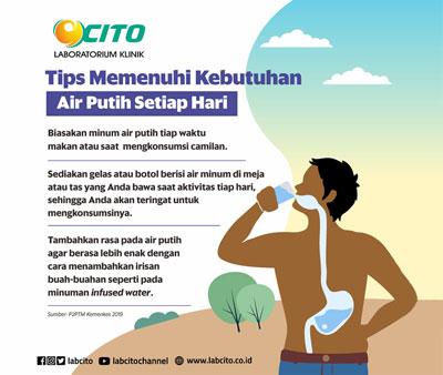 Tips Memenuhi Kebutuhan Minum Air Harian Untuk Menjaga Kesehatan