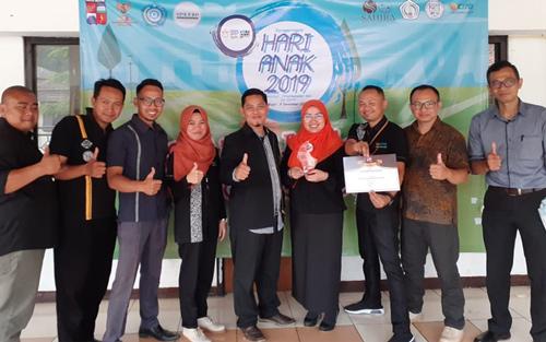 Peduli Anak, Laboratorium Klinik CITO Mendapatkan Penghargaan Dari Wali Kota Bogor