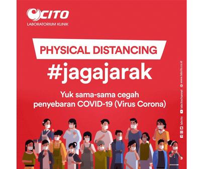Physical Distancing Untuk Mencegah Penyebaran Covid-19