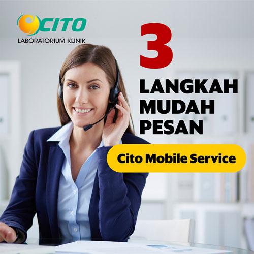 Langkah Pemesanan Layanan Cito Mobile Service