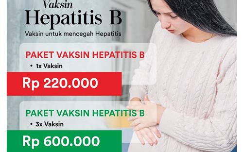 Paket Vaksinasi Untuk Mencegah Penyakit Hepatitis B