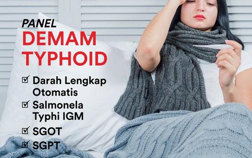 Panel Demam Typhoid Untuk Pemeriksaan Penyakit Tifus