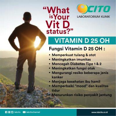 vitamin D 25 OH