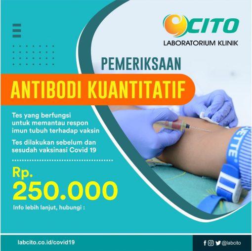 antibodi kuantitatif